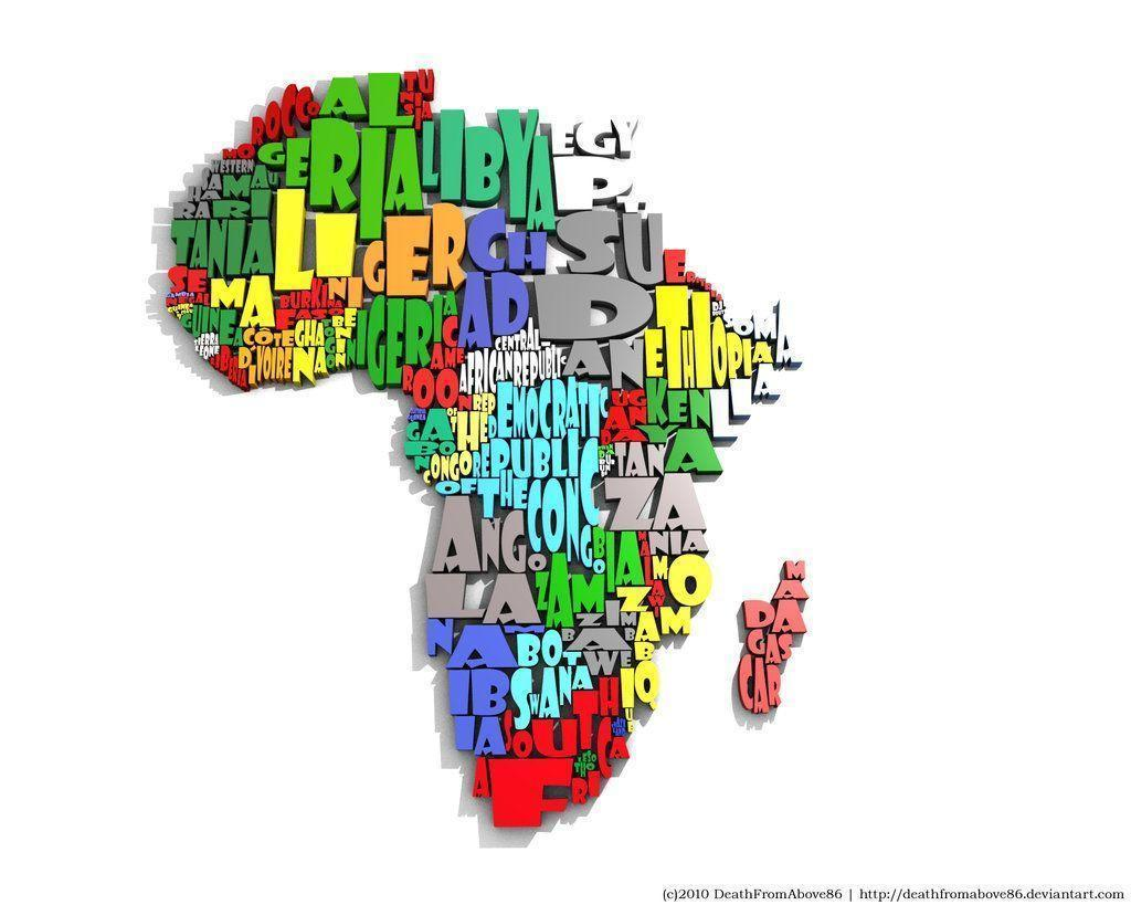 Africa Map Wallpapers 1024x819
