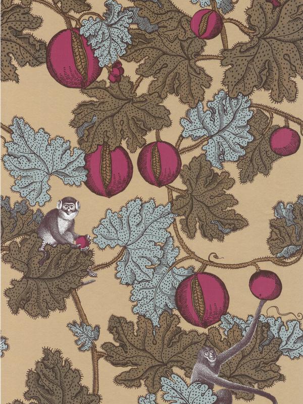 Cole and Son Designer Wallpaper   Fornasetti Frutto Proibito 600x800
