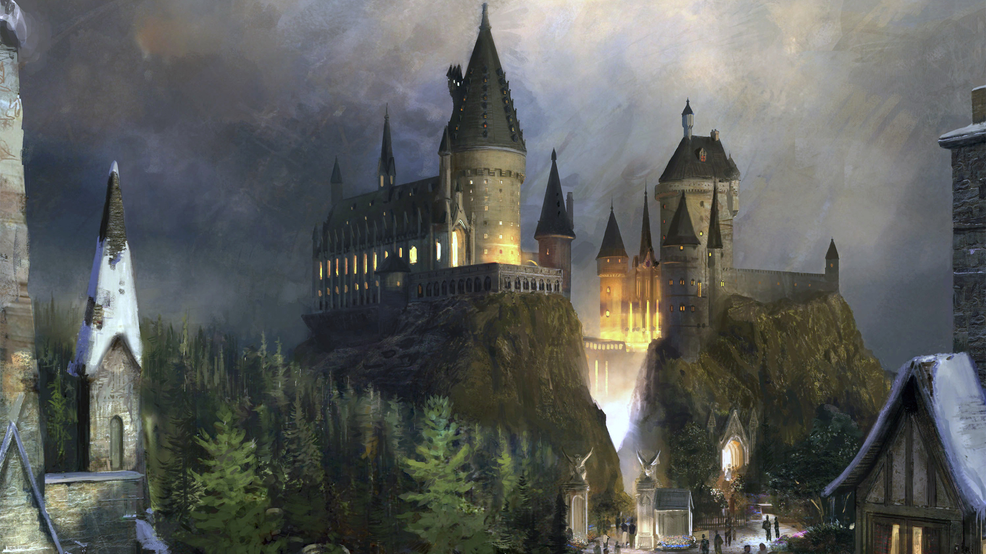 311 Castle HD Wallpapers Backgrounds 1920x1080