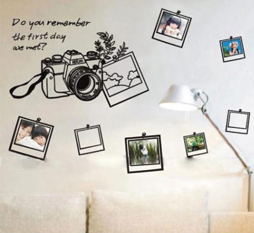 Photo Frame Wall Stickers Decals Wallpaper Art Removable Home Decor 500x459