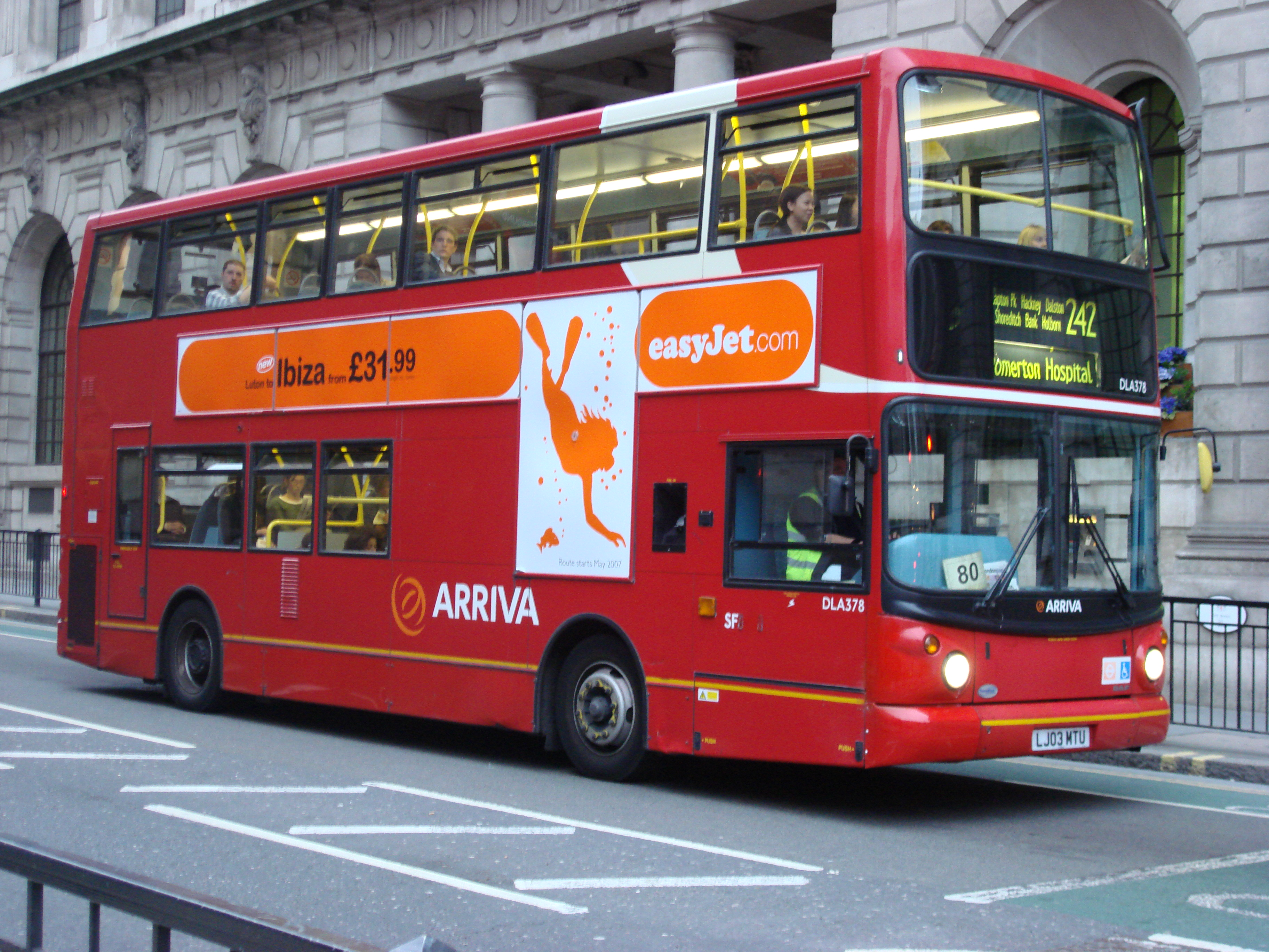 FileLondon Bus route 242jpg   Wikipedia the encyclopedia 3648x2736