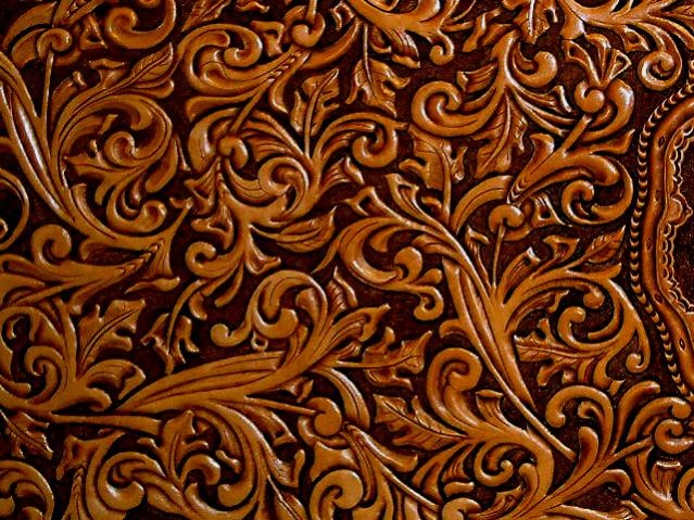 Red Tooled Leather Background Hand tooled leather tooled 639x479