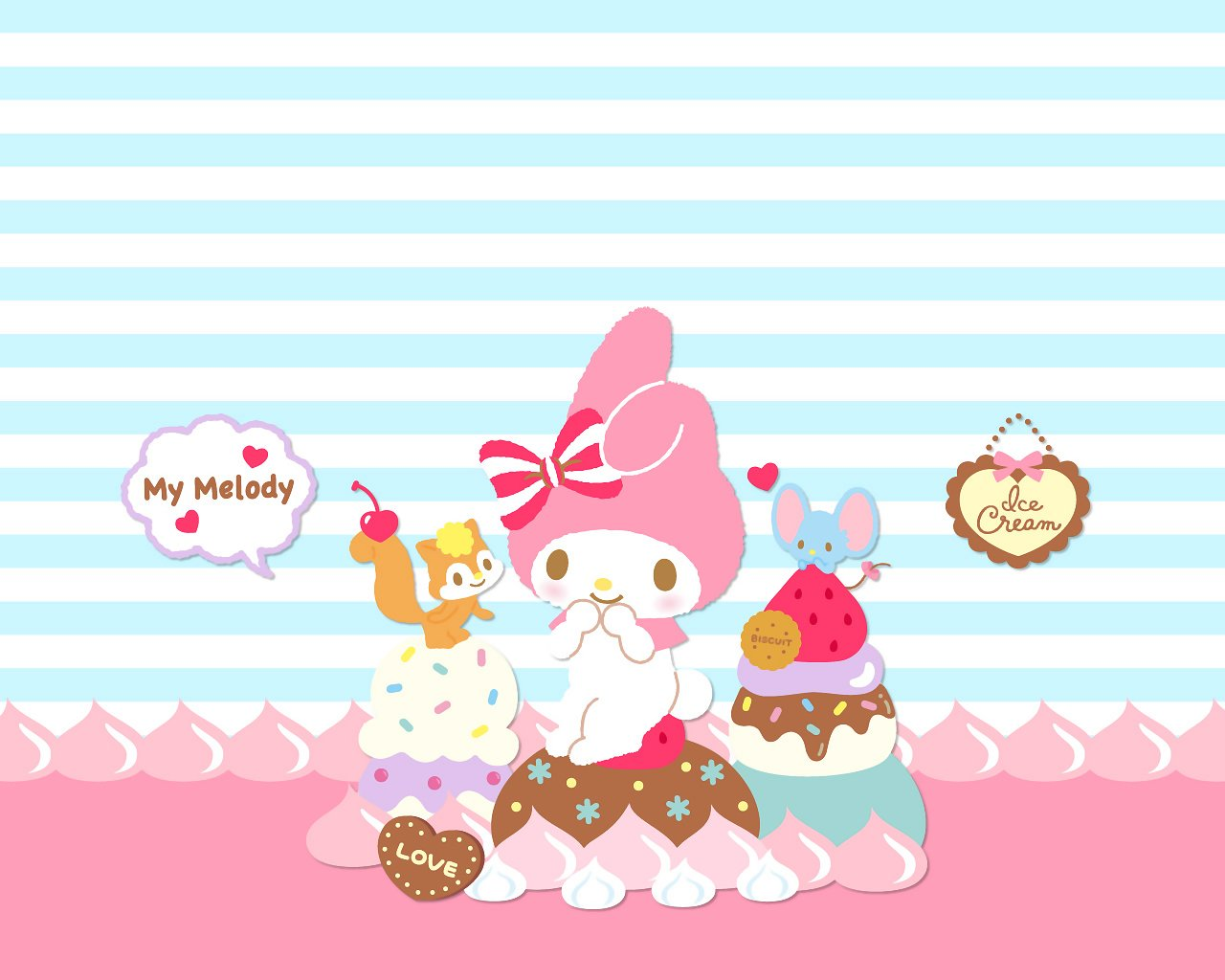 48+ My Melody Wallpaper on WallpaperSafari