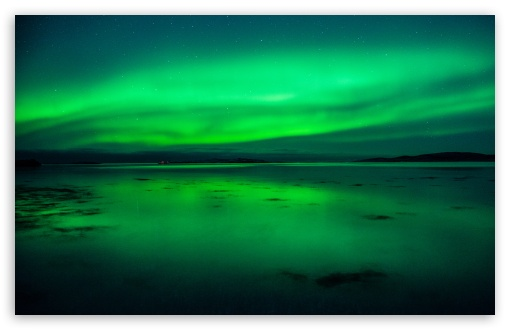 Aurora Borealis HD desktop wallpaper High Definition Fullscreen 510x330