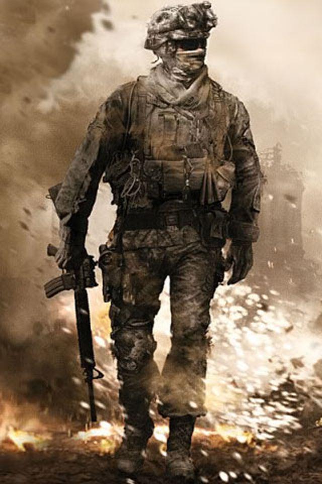 Soldier iPhone Wallpaper HD 640x960