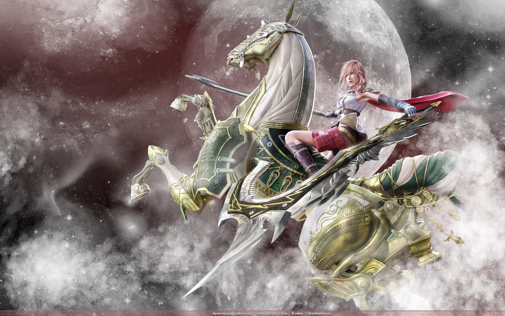 Final Fantasy Xiii Wallpaper: Fantasy Horse Wallpaper