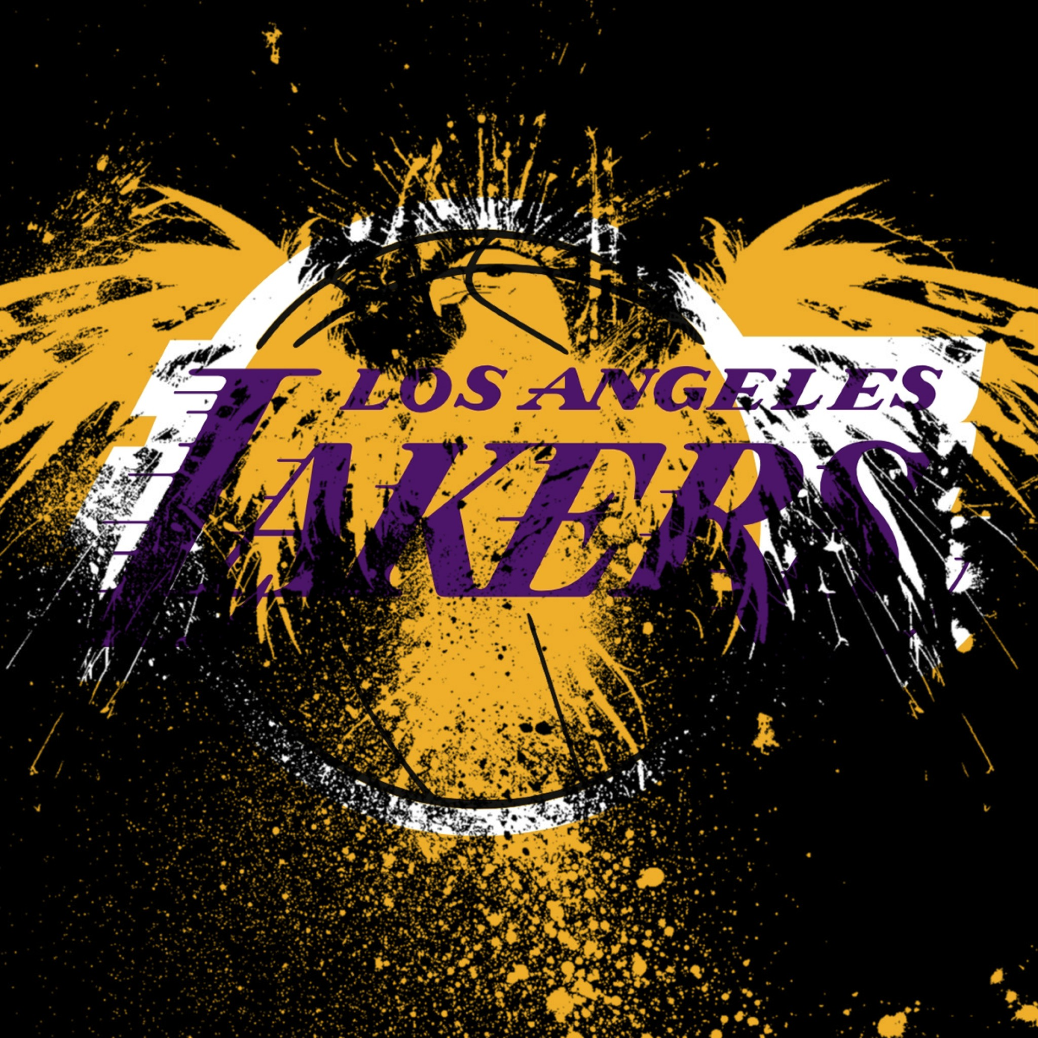 Free Download Los Angeles Lakers Logo Background