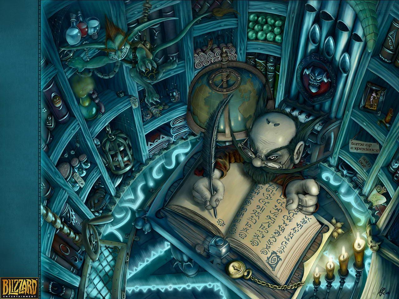 Gnome Warlock Shop   World of Warcraft Wallpaper Gnome Warlock Shop 1280x960