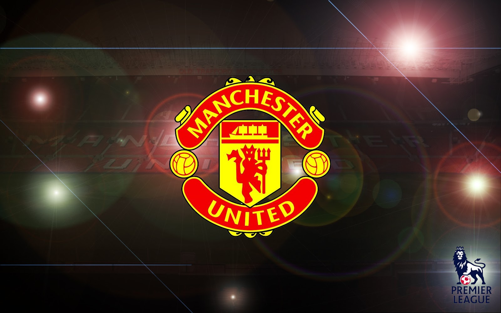 Manchester United Logo Wallpapers HD Collection 1600x1000