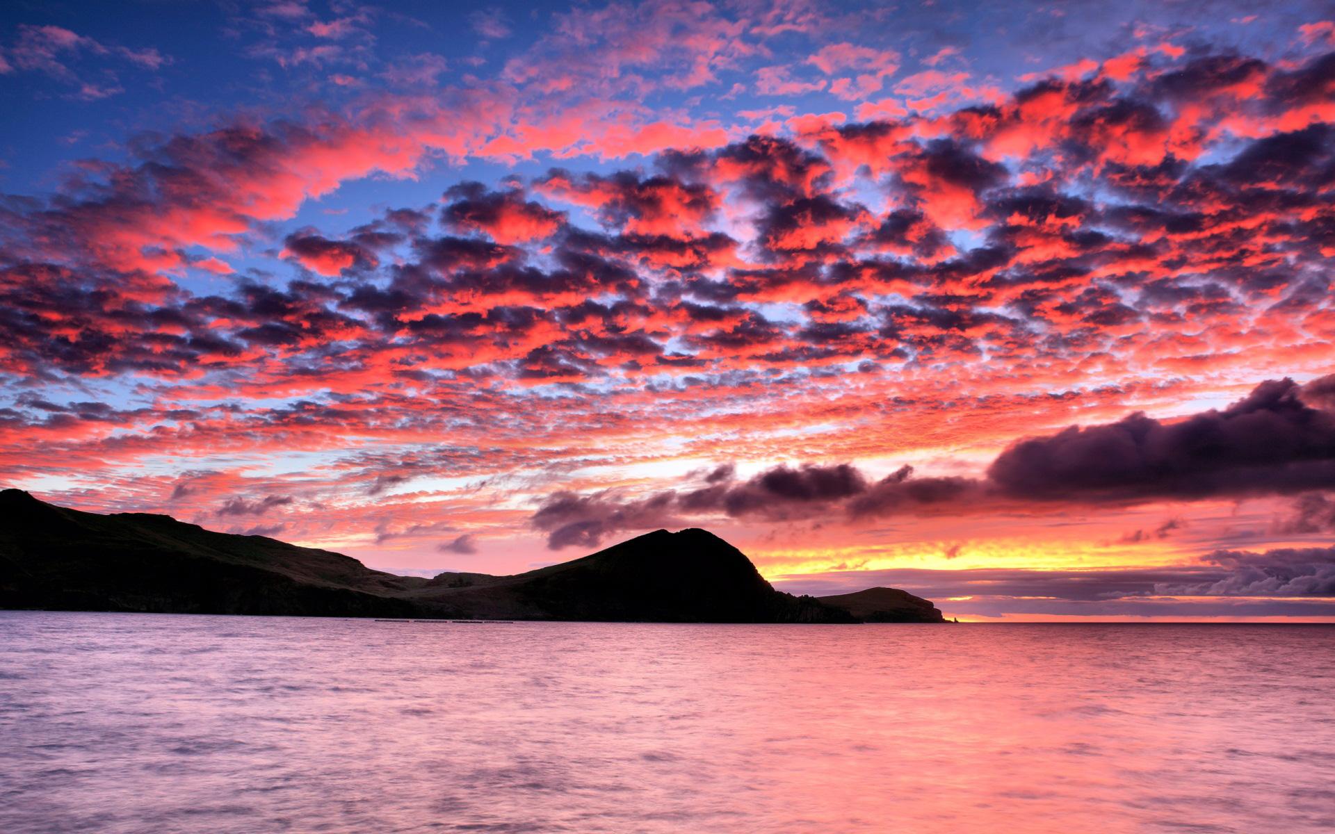 papers sunset pink beach beautiful wallpaper   ForWallpapercom 1920x1200