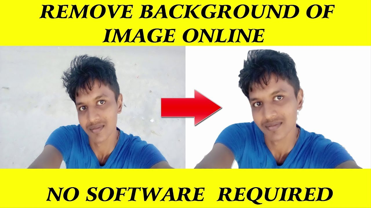 How to remove background of an image without photoshop   online 1280x720