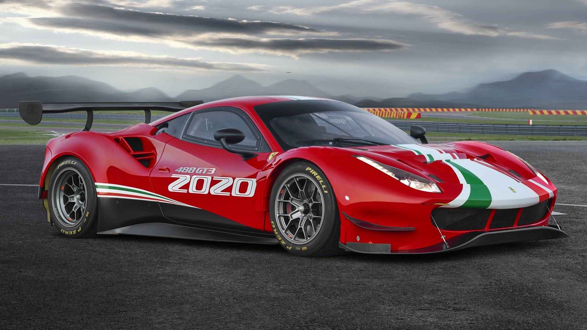 2020 Ferrari 488 GT3 Evo Debuts With Aero Upgrades Longer Wheelbase 1920x1080