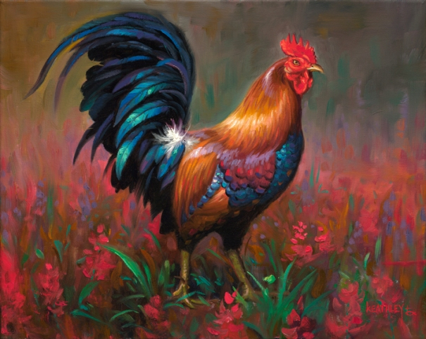 The Rooster by Mark Keathley 605x482
