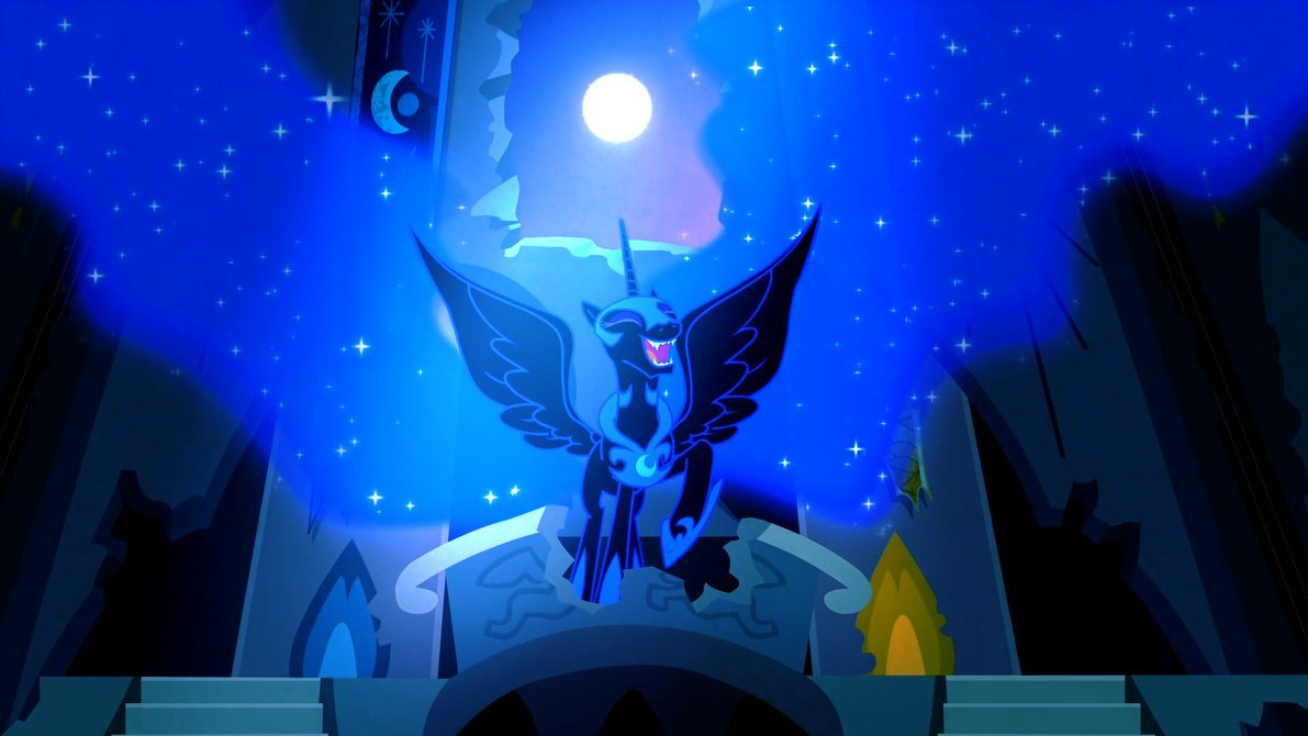 Nightmare Moon [Wallpaper] by DrNoLife 1191x670