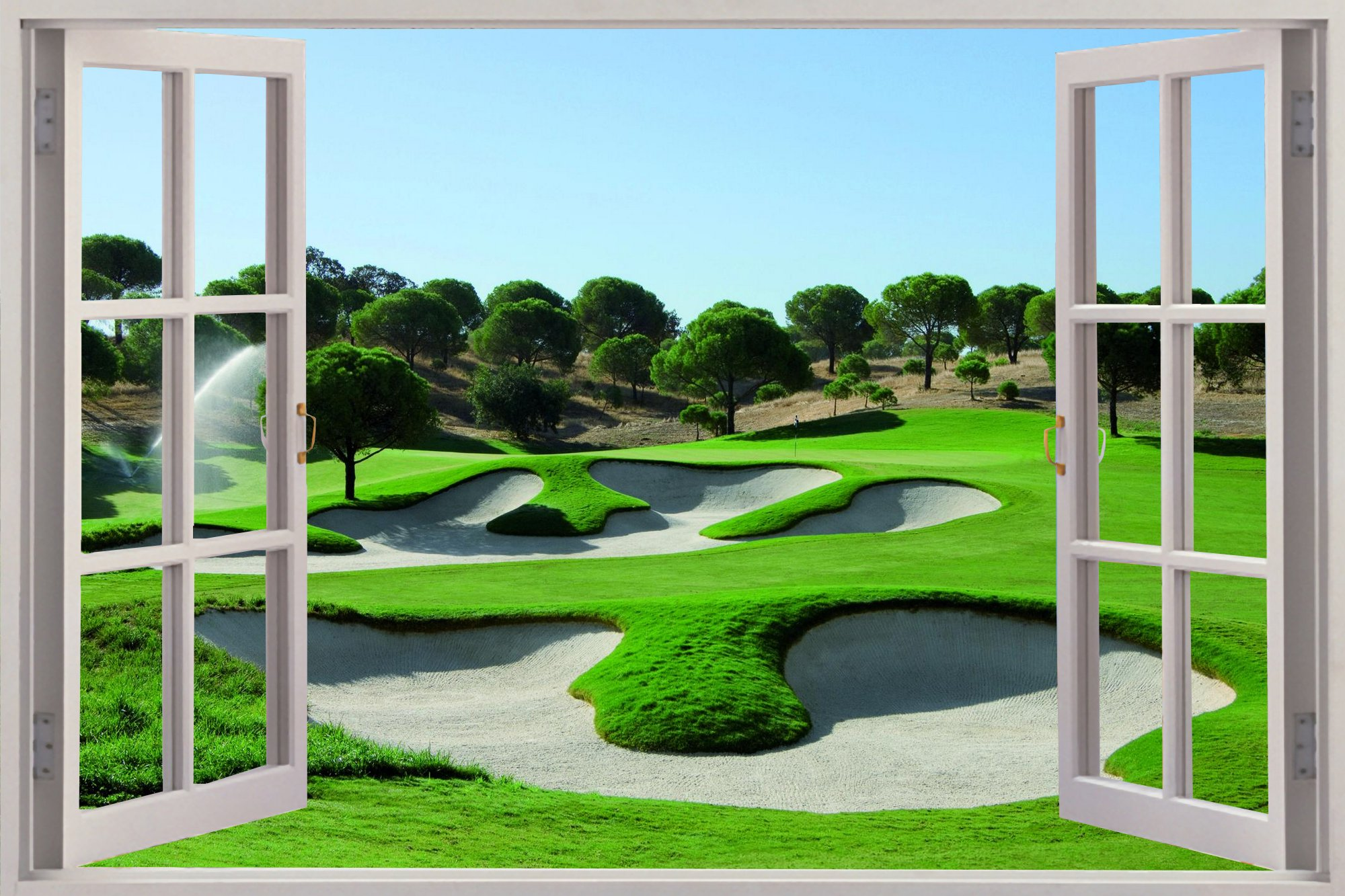 Luxury Golf Wall Art Gift   Wall Art Ideas   Dochista.info