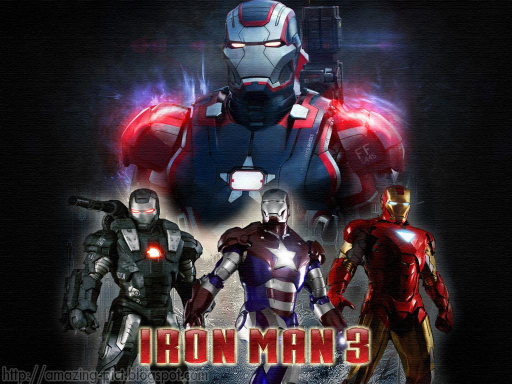 iron war iron patriot and iron man 3 tony stark wallpaper iron man 3 1024x768