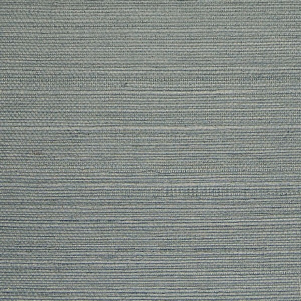 Brewster Island Grey Faux Grasscloth Wallpaper Fd23285: Blue Grey Grasscloth Wallpaper