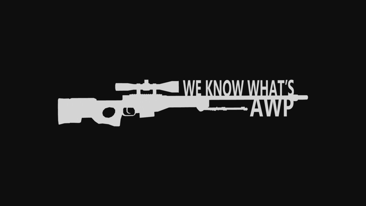 We Know Whats AWP CSGO Wallpaper by WeAreFine 1191x670