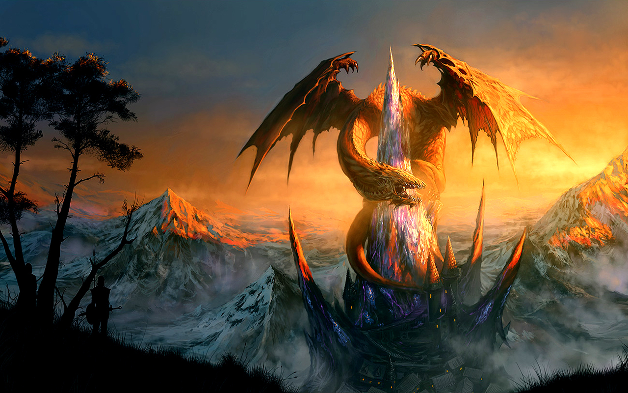 Dragon Wallpaper dragons 13975628 1280 800jpg 1280x800
