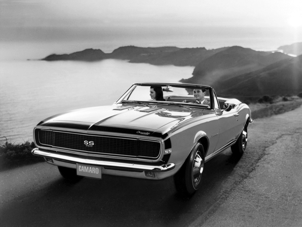 Wallpapers Chevrolet Camaro SS 350 Convertible 1967 Wallpapers 1280x960