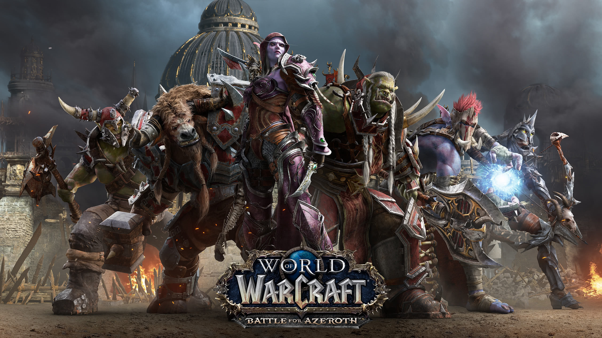 World Of Warcraft Battle For Azeroth Horrde WQHD 1440P Wallpaper 2560x1440