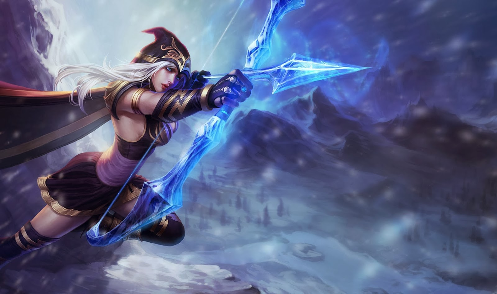 Ashe League of Legends Wallpaper, Ashe Desktop Wallpaper