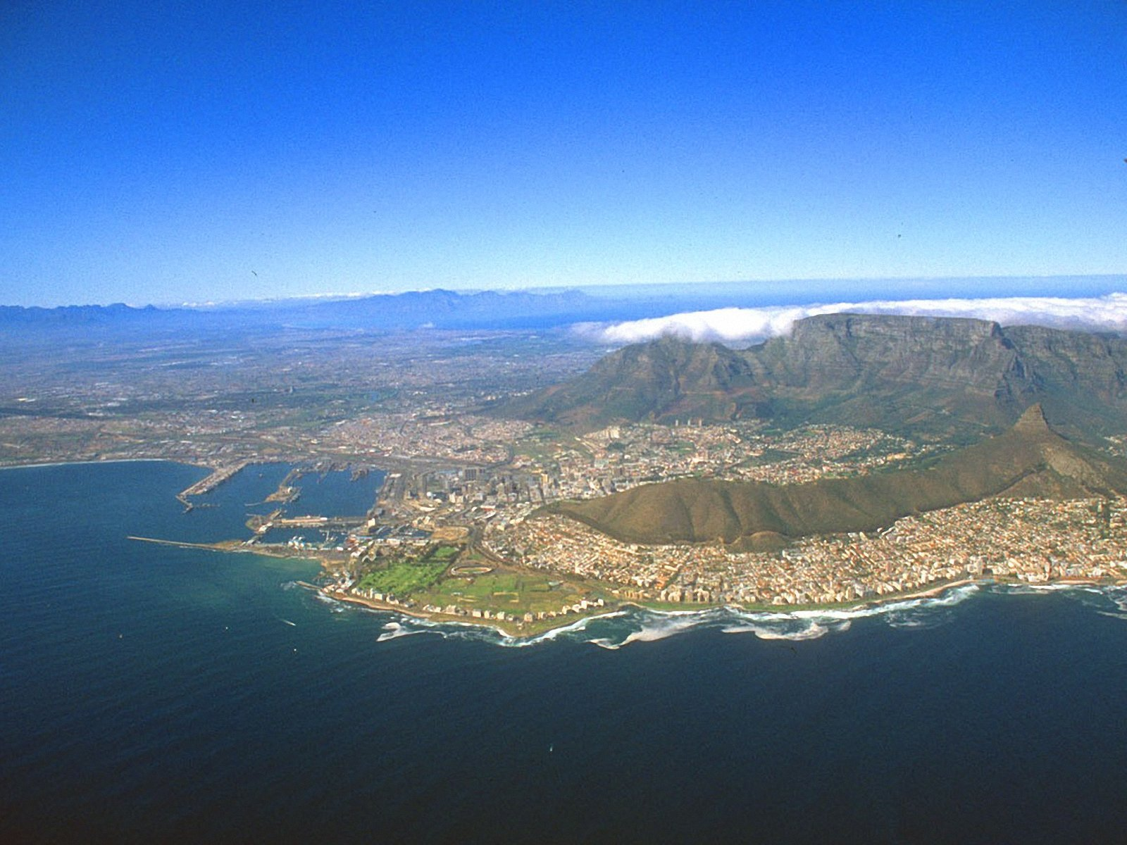Table Mountain View WallpapersTable Mountain Wallpapers Pictures 1600x1200