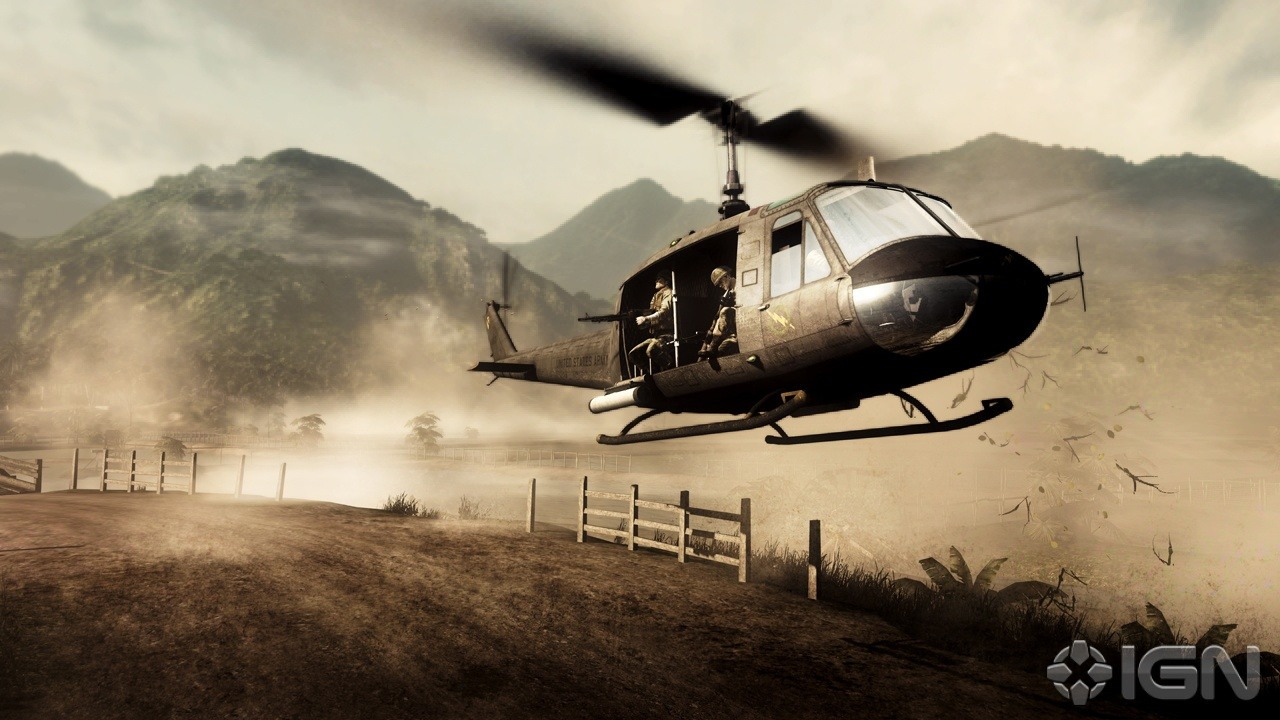 Battlefield Bad Company 2    Vietnam Screenshots Pictures 1280x720