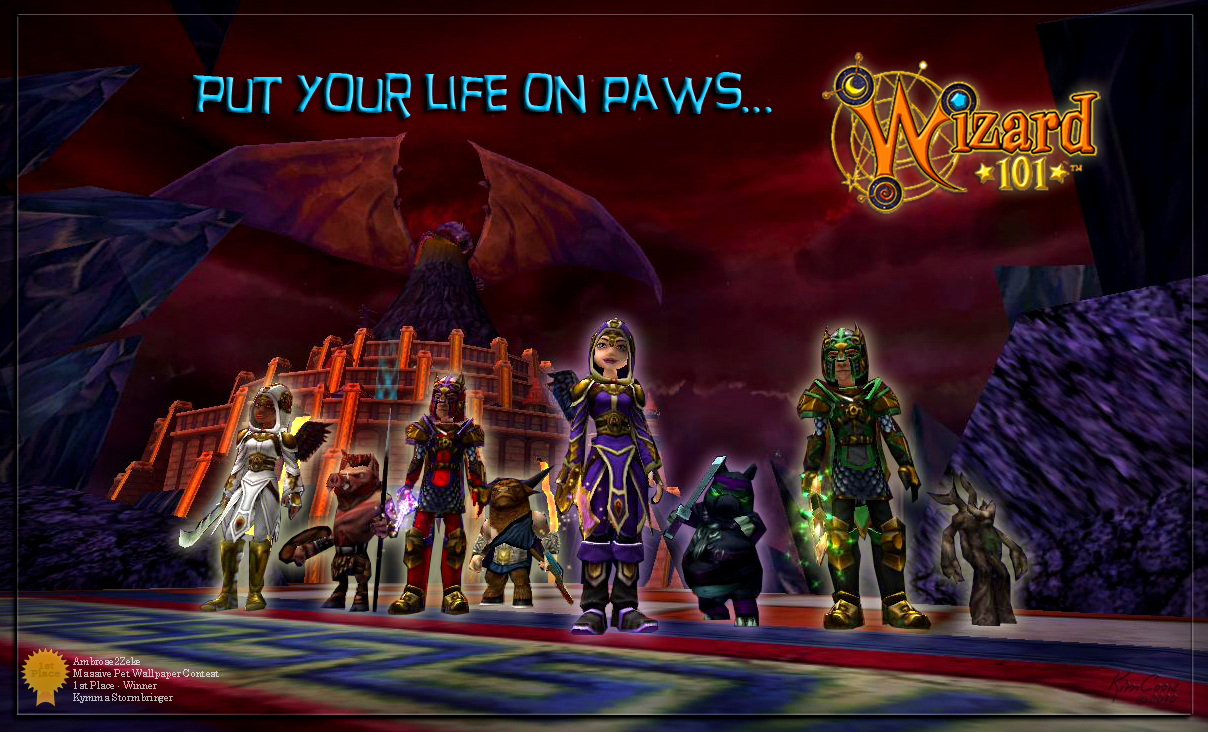 wizard101 storm wallpaper wallpapersafari