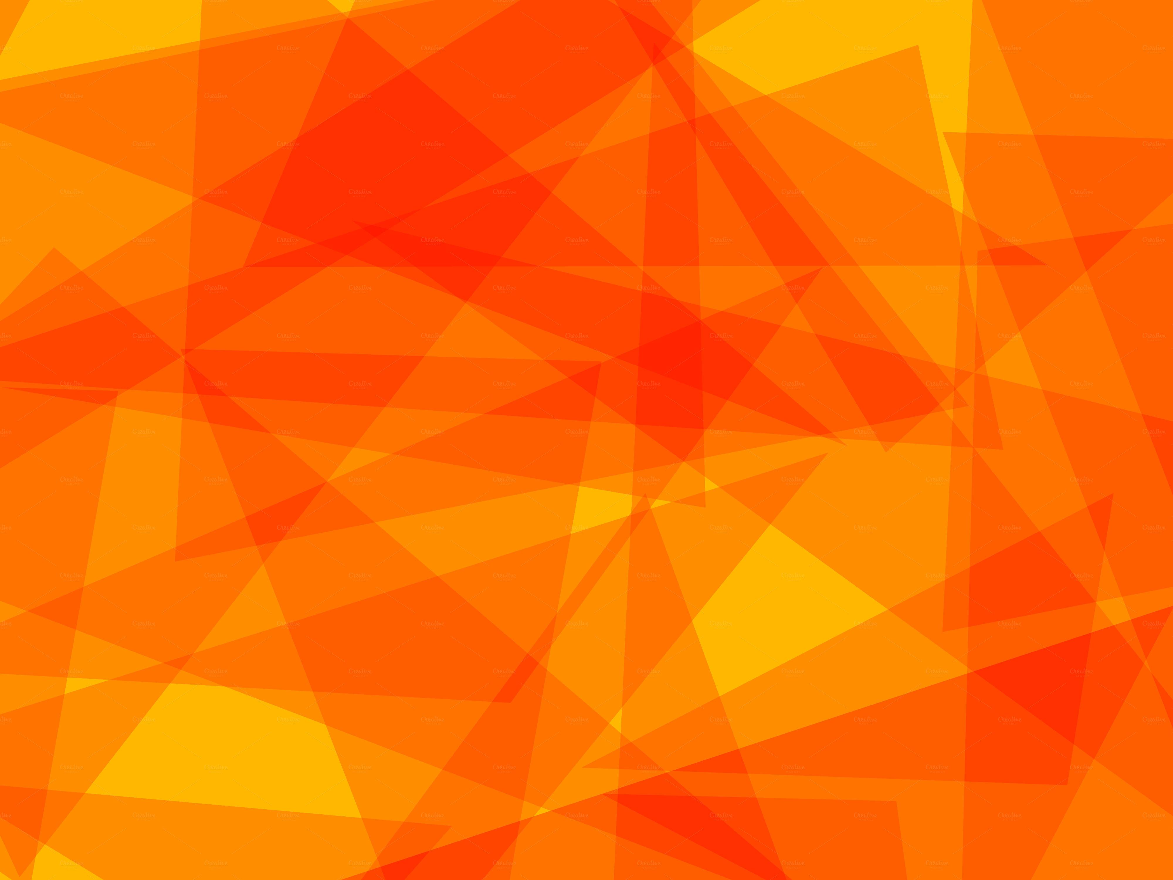 Abstract Orange Triangles Wallpaper 1000 4000x3000   uMadcom 4000x3000