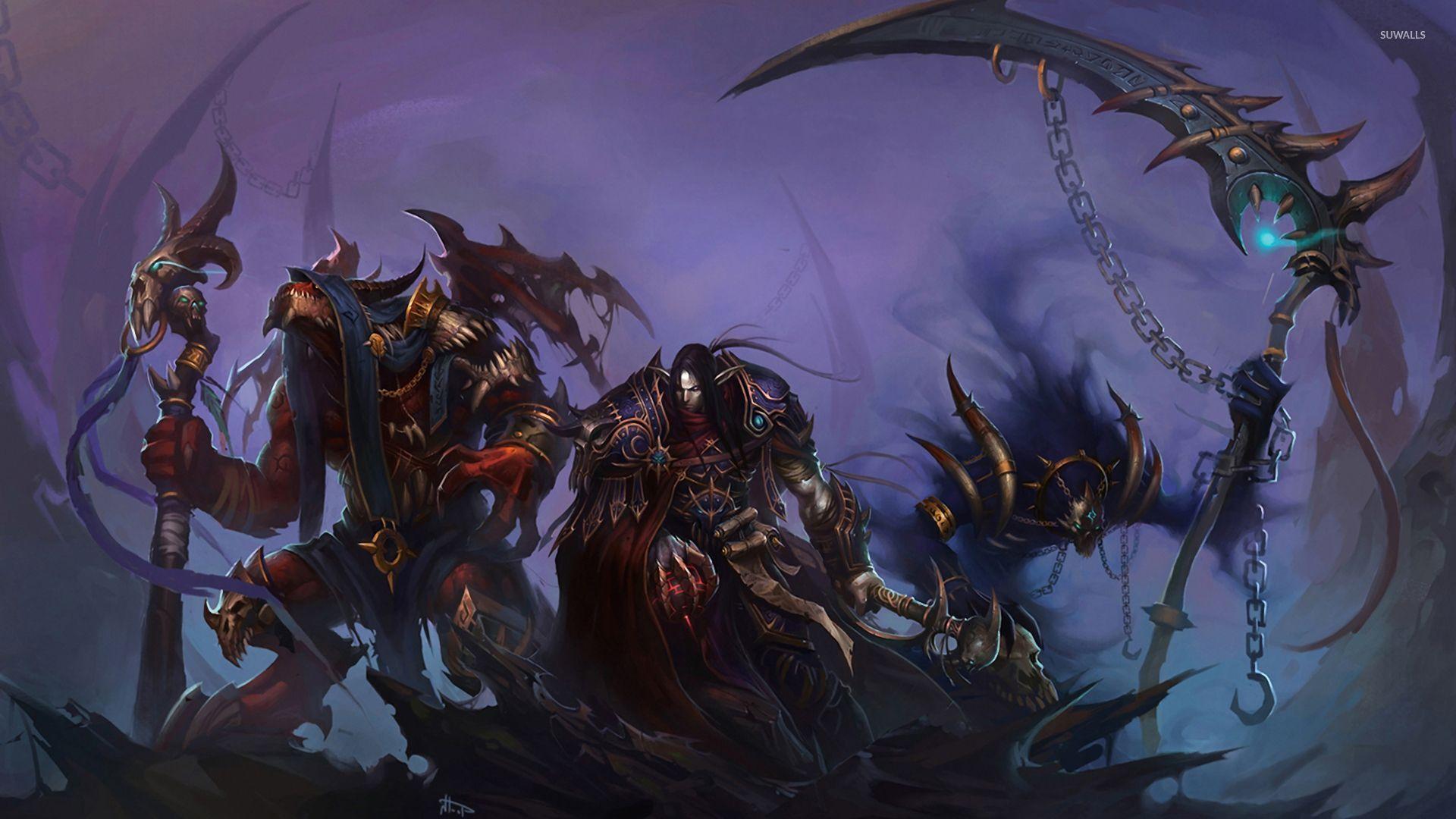 Free Download World Of Warcraft Warlock Wallpaper 1920x1080 For