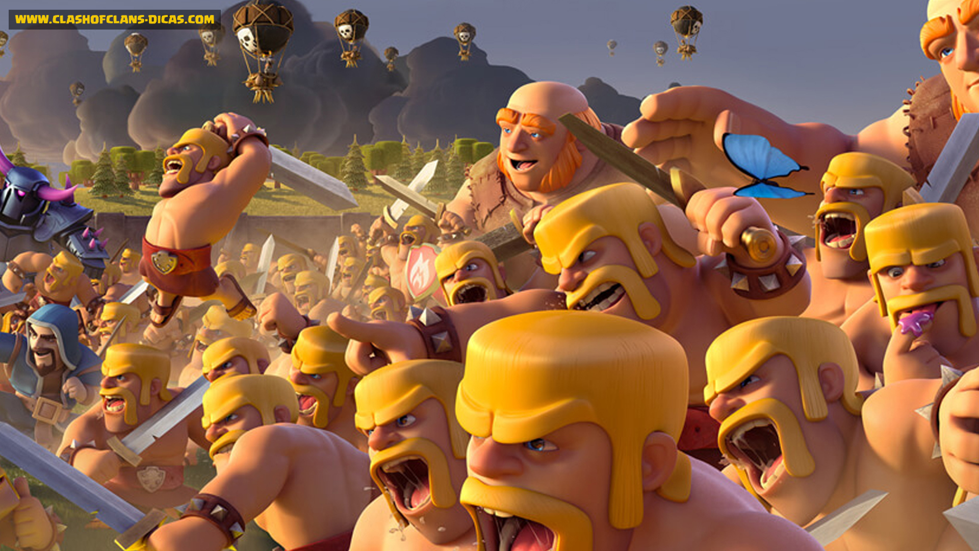 Clash Of Clans Images Wallpapers 43 Wallpapers 1920x1080