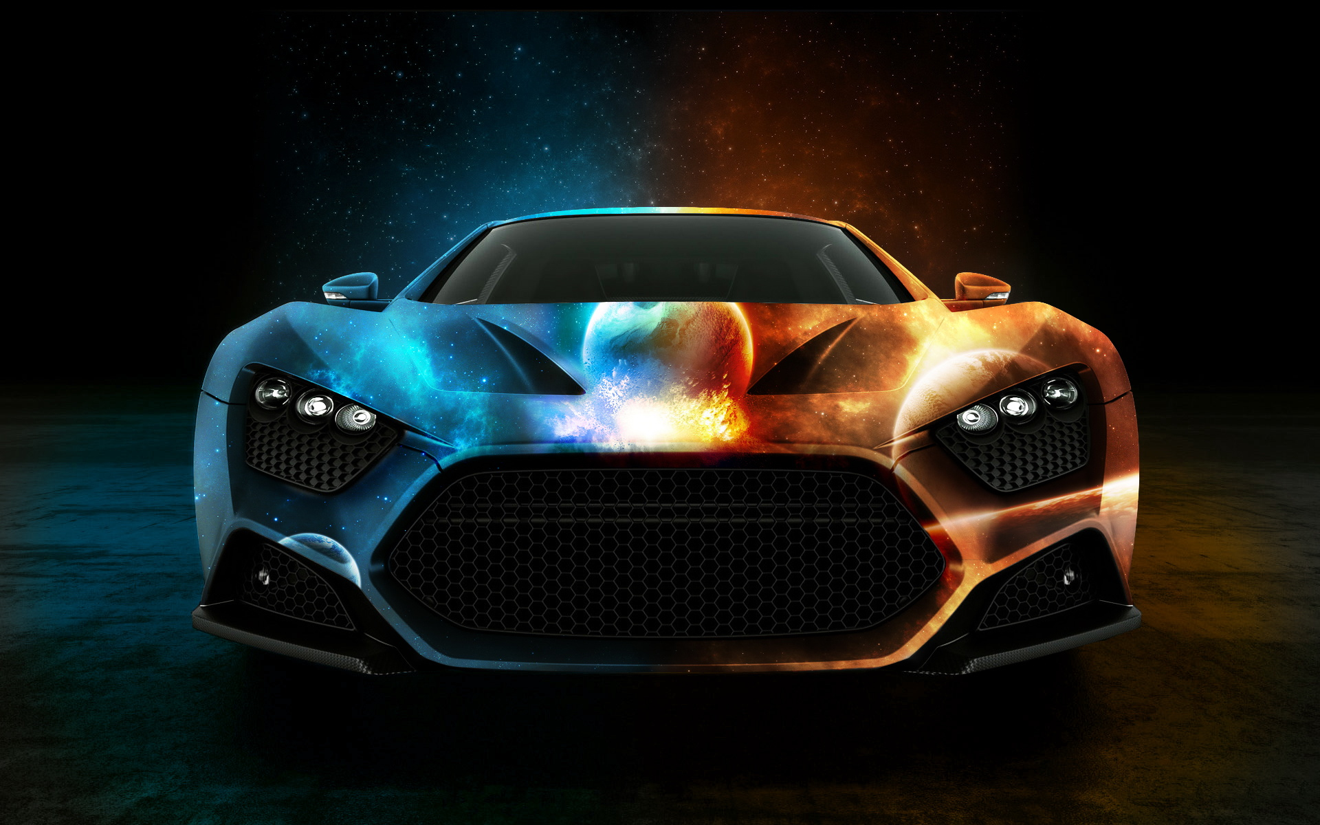 Water and Fire Car Wallpaper   iBackgroundWallpaper 1920x1200