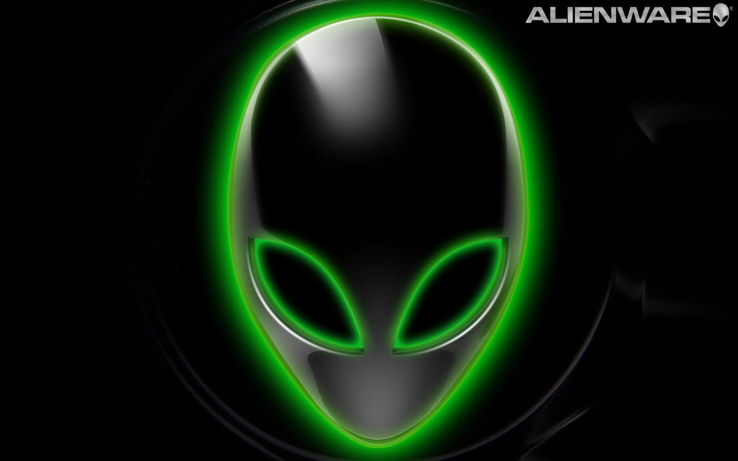 Green Alienware HD Desktop Wallpaper VIOTABI IMAGES 1440x900