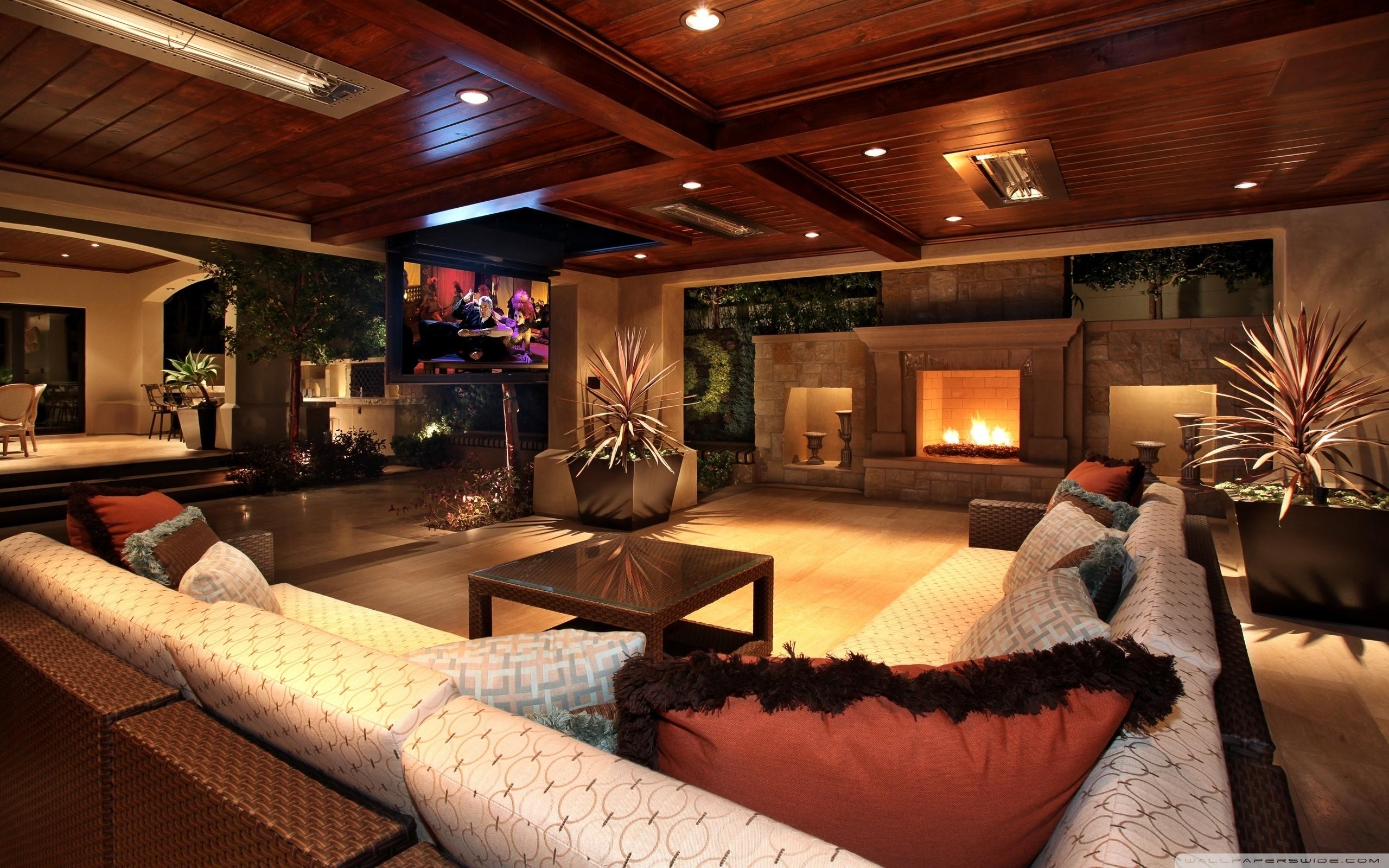 Luxury House Interior 4K HD Desktop Wallpaper for 4K Ultra HD 2560x1600