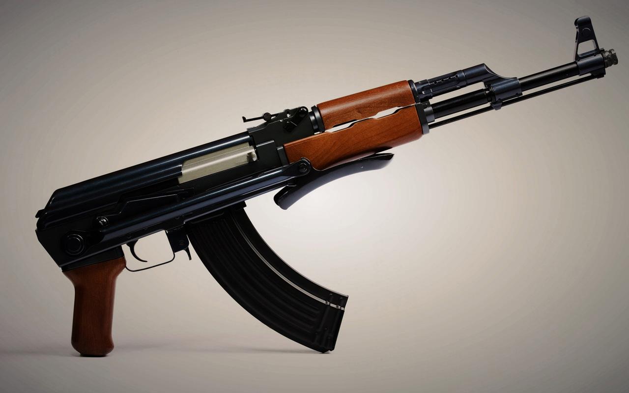 AK47 rifles Wallpapers 01 HD Wallpaper Downloads 1280x800