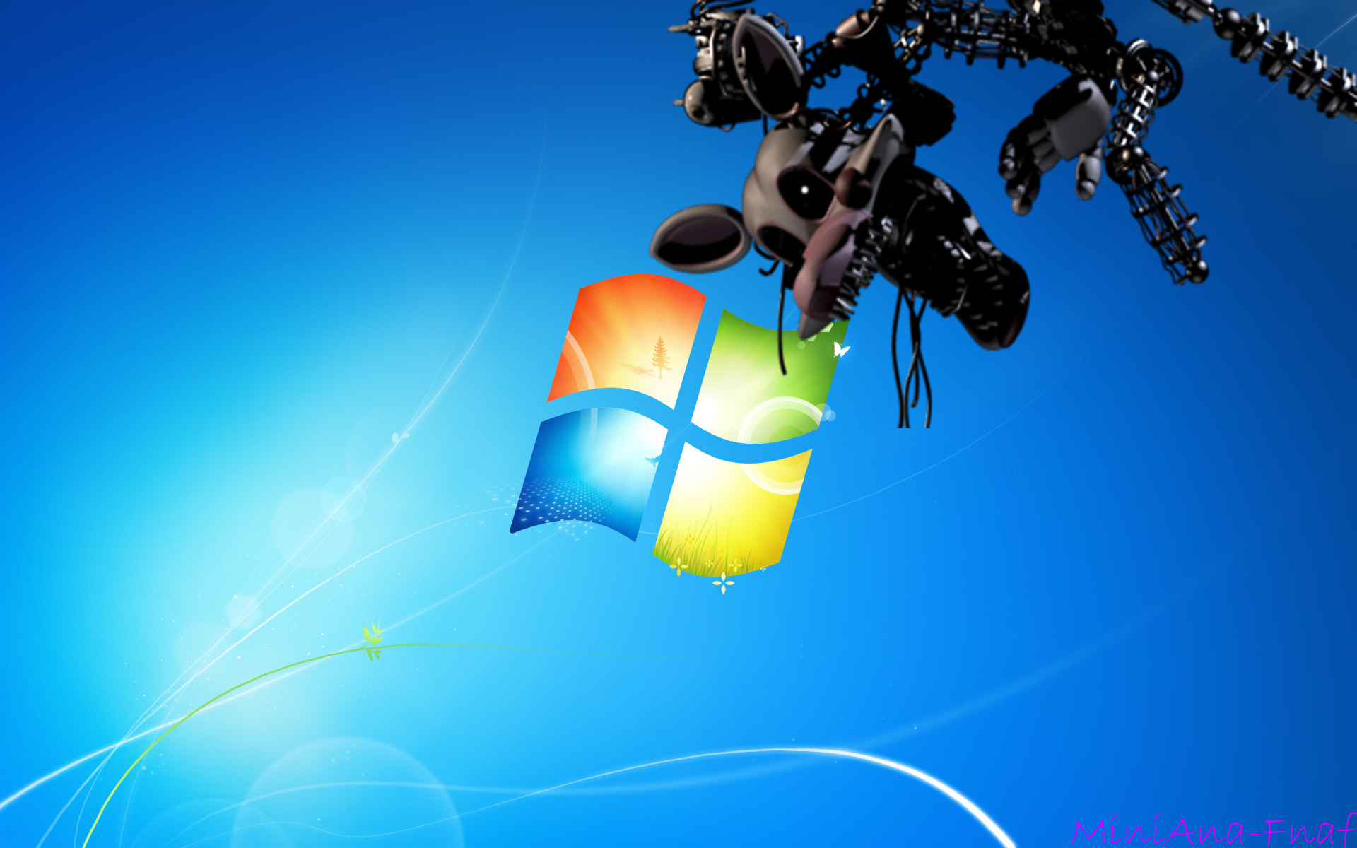 FNAF WALLPAPER Mangle1 Windows 7 by MiniAna Fnaf 1920x1200