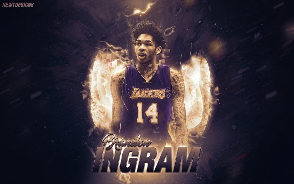 Brandon Ingram Lakers Wallpaper by NewtDesigns 1024x640