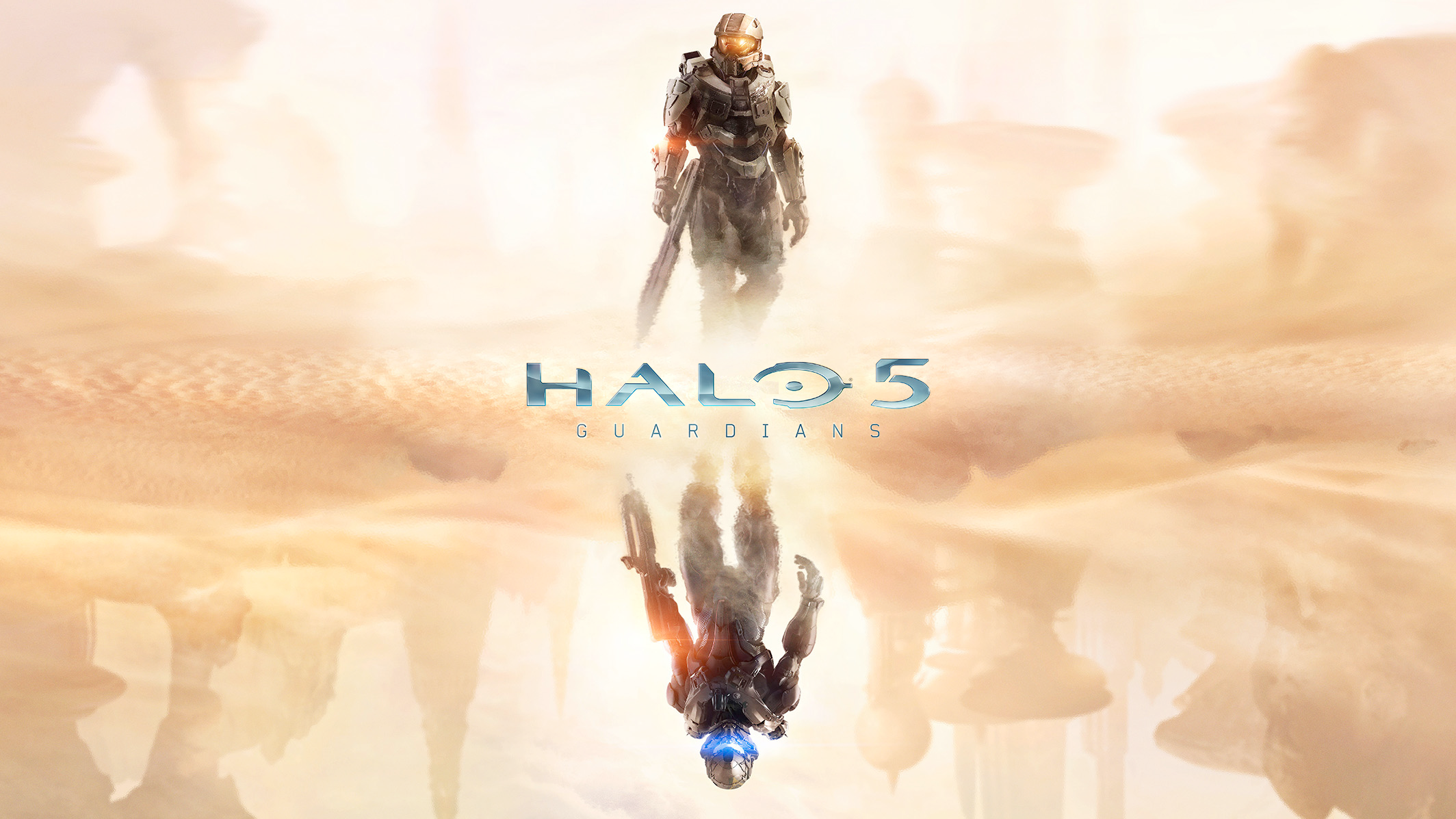 Halo 5 Shadow Mirror Wallpaper HD 2128x1197