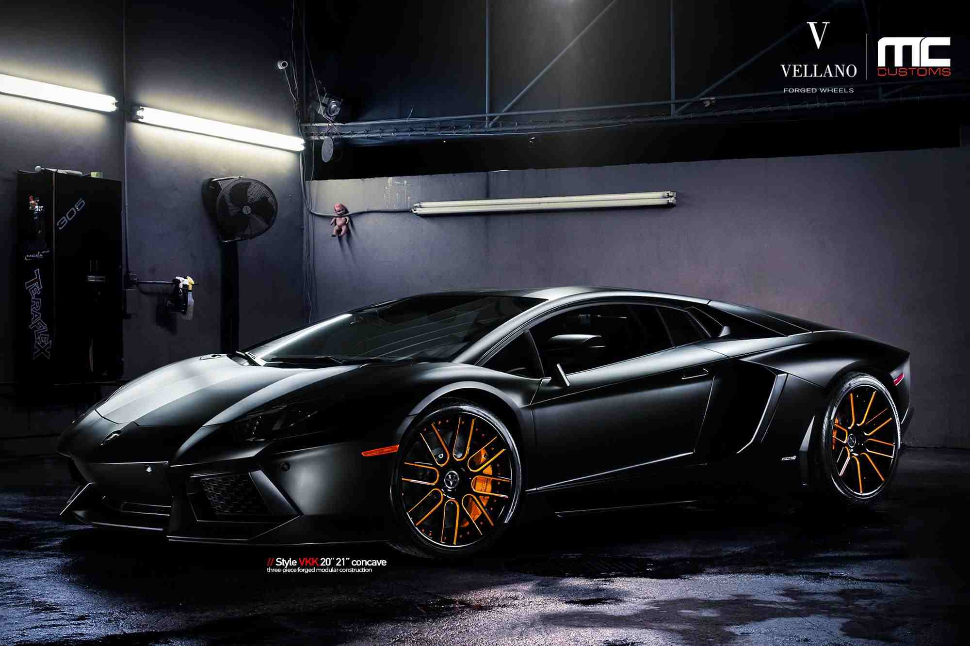 Lamborghini Aventador Black Vellano HD Wallpaper 3380 2000x1333
