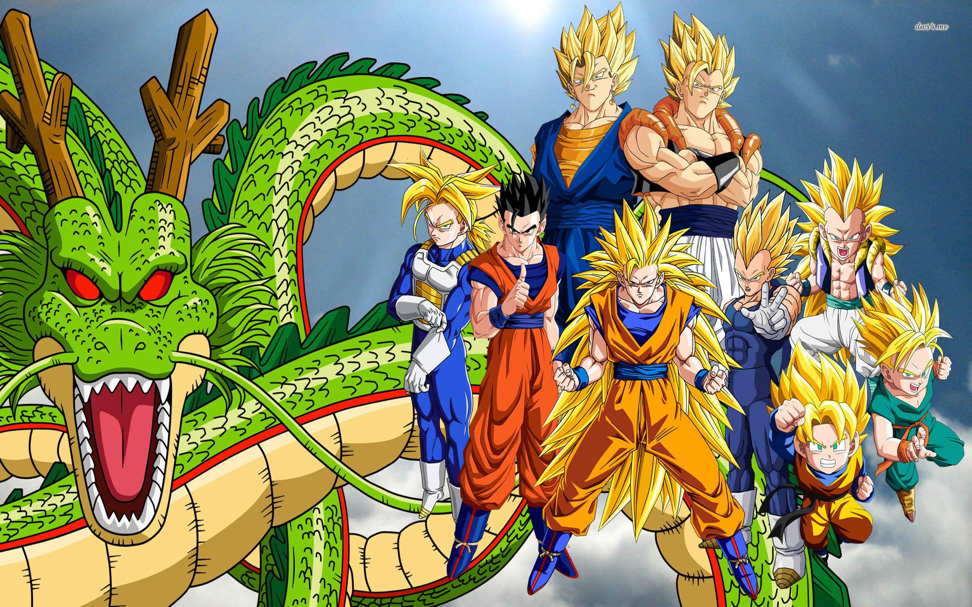 Sayayines Dragon Ball Z HD   1920x1200 Goku y Gohan Dragon Ball Z HD 1920x1200
