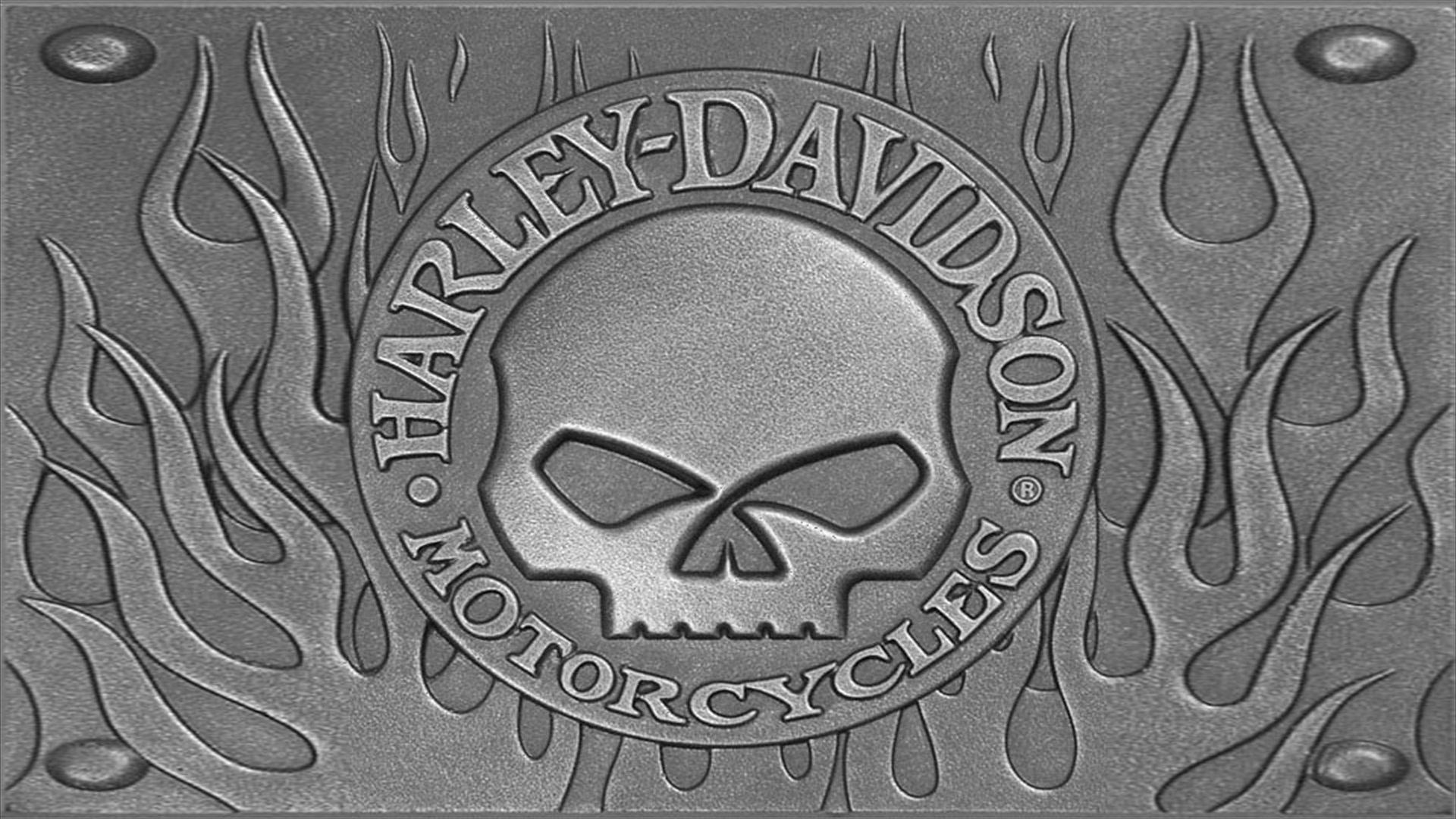 Harley Davidson Logo 2 Wallpaper   MixHD wallpapers 1920x1080