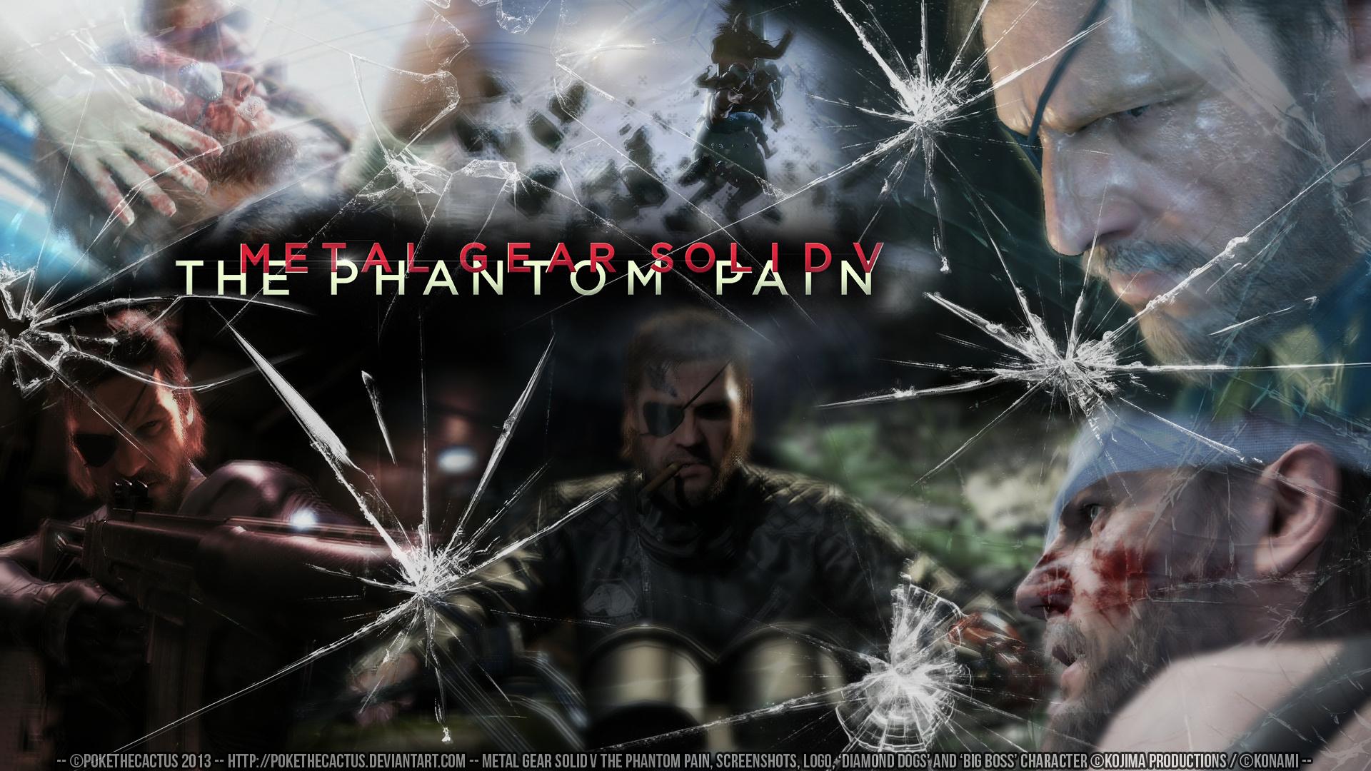 Metal Gear Solid V Ground Zeroes y The Phamton Pain al detalle 1920x1080