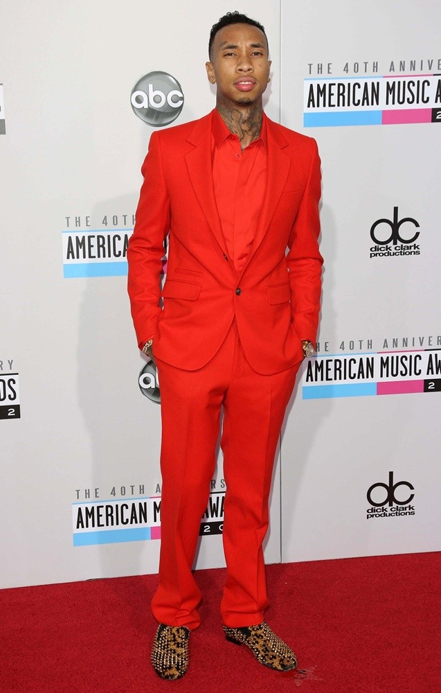 Tyga images Tyga at American Music Awards HD wallpaper and 637x1000