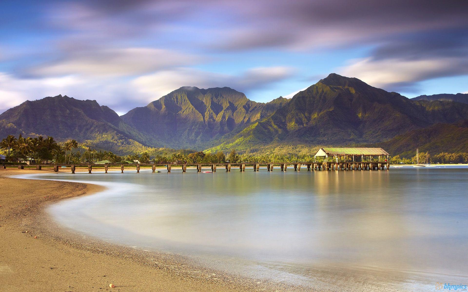 kauai wallpaper Kauai Beach Hanalei 1920 x 1200 Download 1920x1200