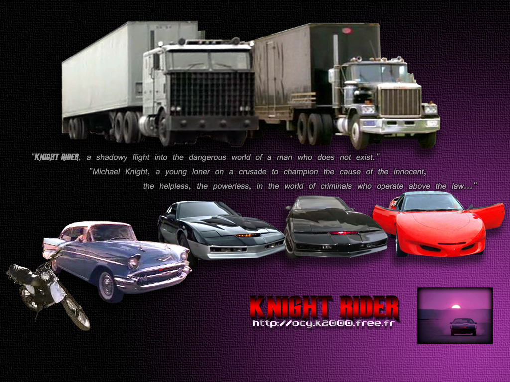 free download wallpapers knightrider for fans of knight rider the Car 1024x768