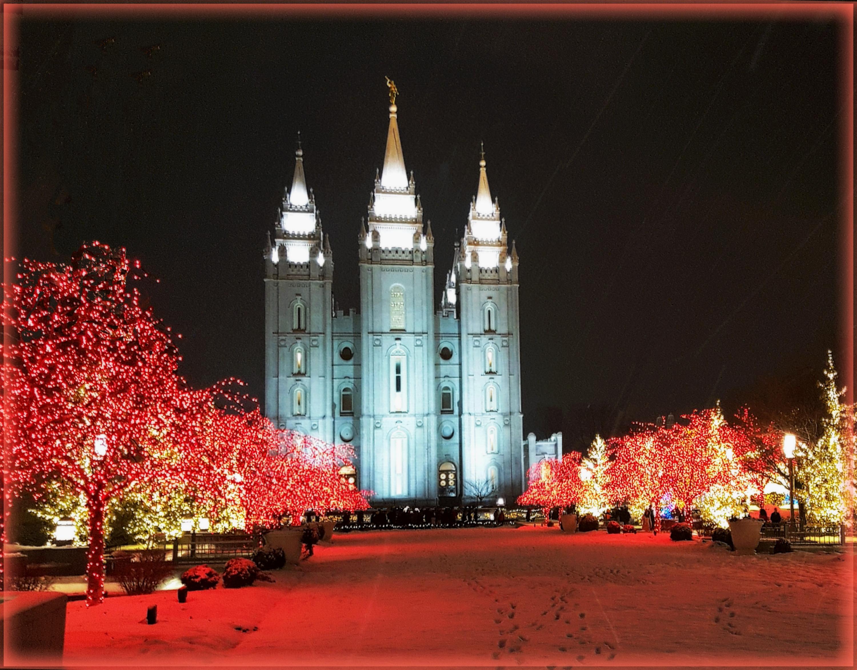 Salt Lake CIty LDS Temple by Flmngseabass   Caedes Desktop Wallpaper 3000x2343