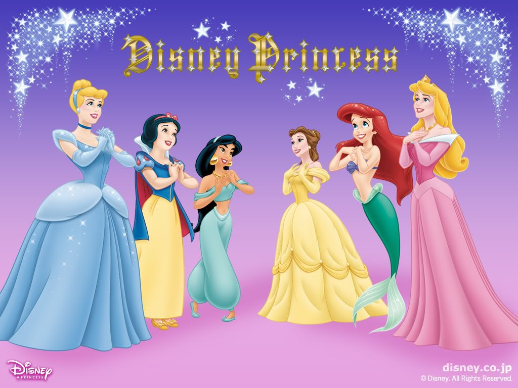 Disney Princesses Wallpaper Disney Desktop Wallpaper 1024x768