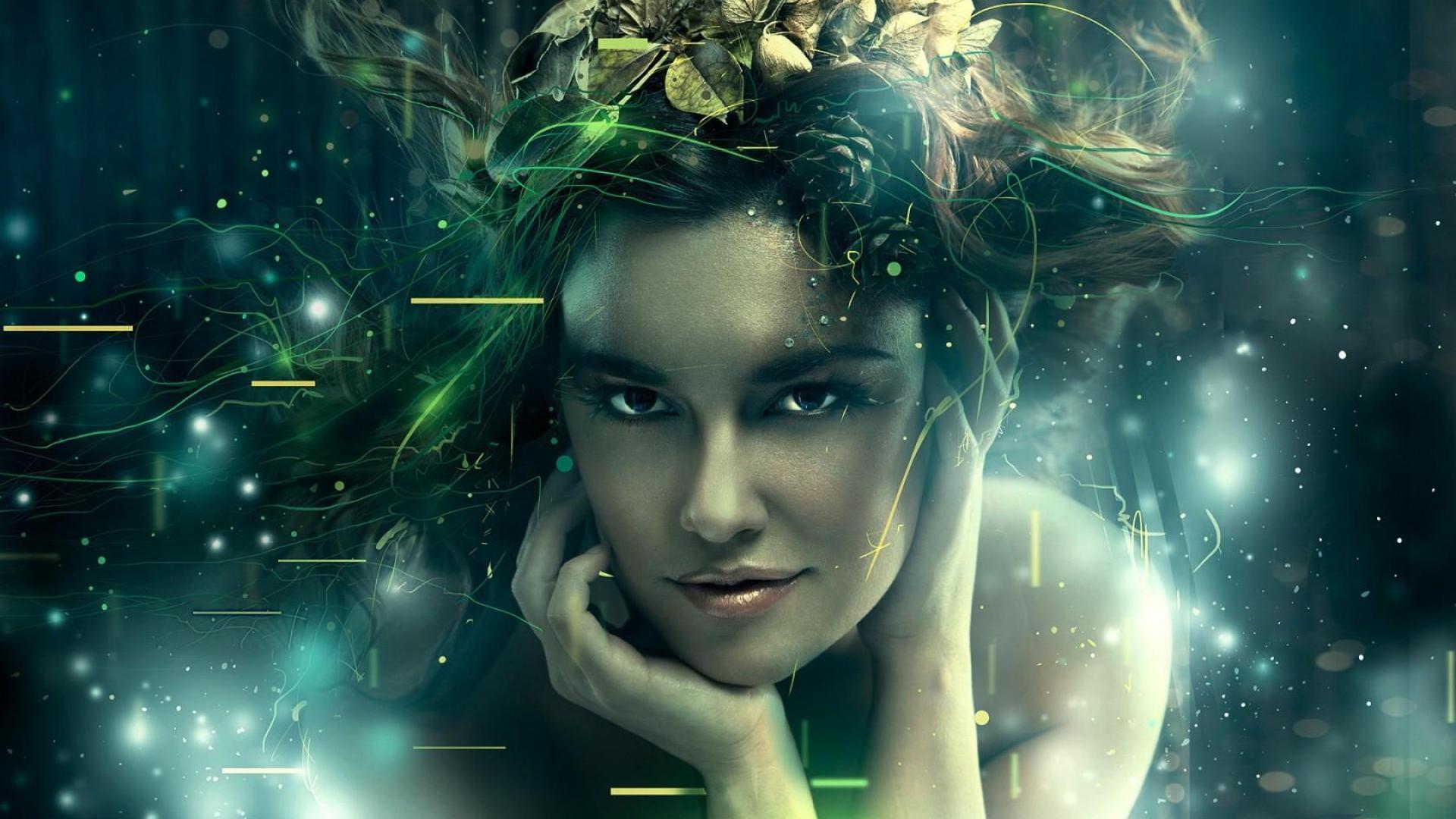 Magic Girl Women Fantasy HD Wallpaper   Stylish HD Wallpapers 1920x1080