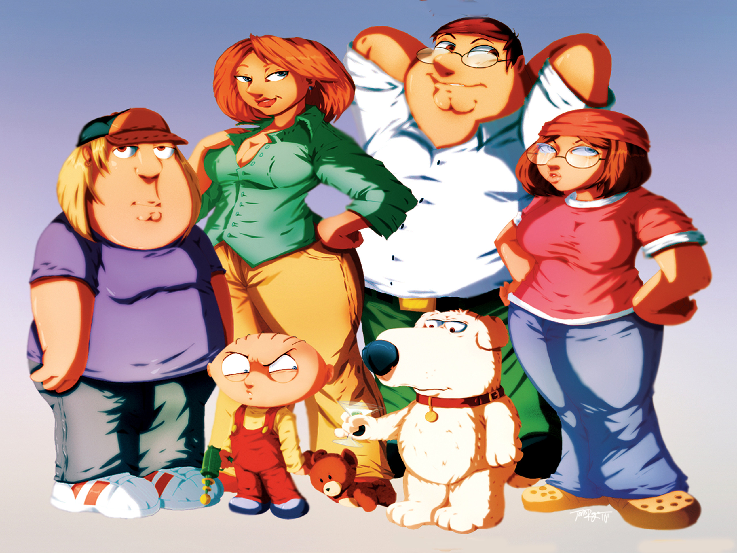 Family Guy Wallpaper for Computer 54 images 2560x1920